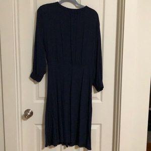 Navy blue H & M dress size 14.